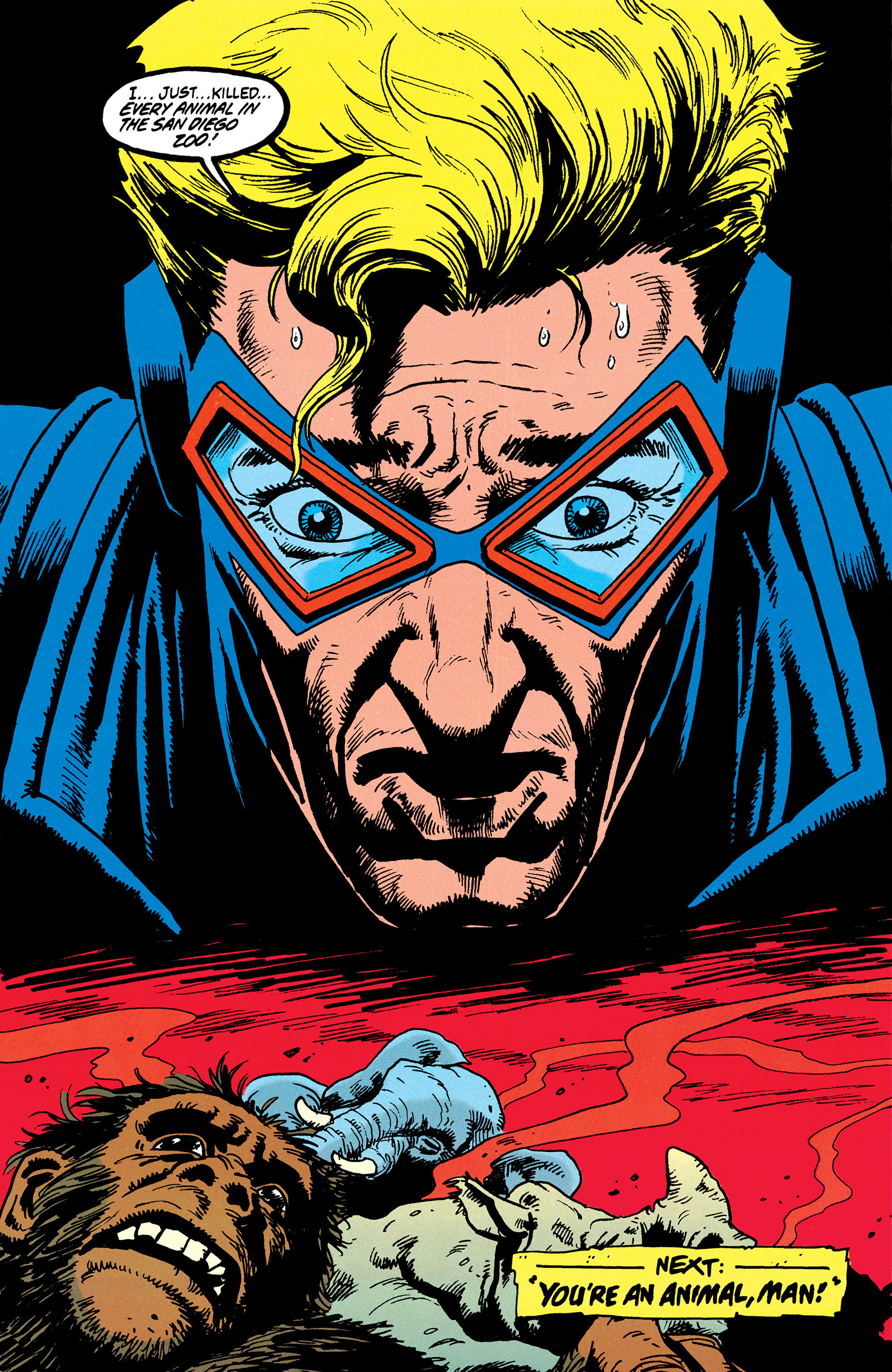 Read online Animal Man (1988) comic -  Issue #37 - 25