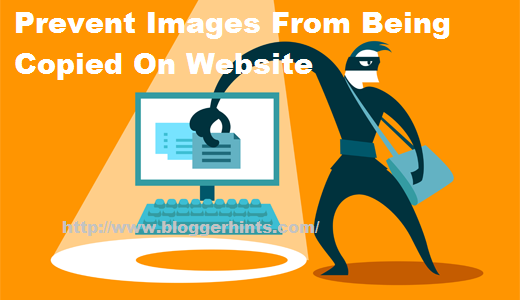 Prevent Images From Being Copied On Website