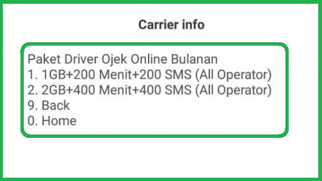 Trik #8 Paket Internet Telkomsel Murah Khusus Untuk OJOL