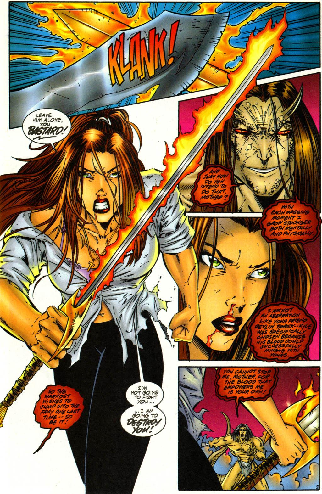 Read online Avengelyne (1996) comic -  Issue #3 - 19