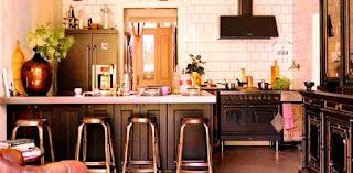 Dapur Dengan Detil Pembeda