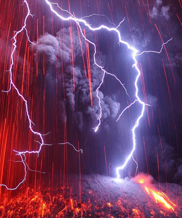 electrifying lightning