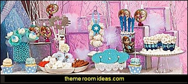 Decorating theme bedrooms - Maries Manor Frozen themed birthday