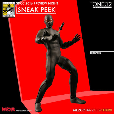 Mezco One:12 Collective Diabolik Action Figure