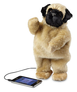 This is the cutest dancing dog speaker I have ever seen.