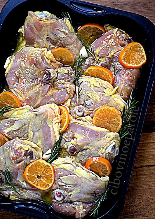 Pollo arrosto procedimento - ricetta