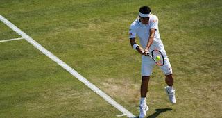 Kei Nishikori Wimbledon first round press conference