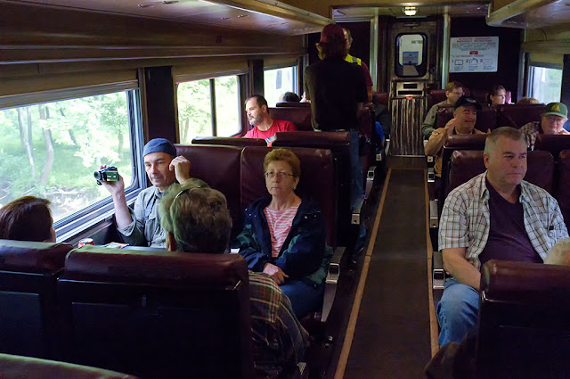 First Class on the N&W 611