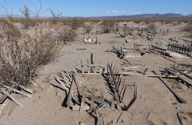 Boulder City Pet Cemetery in Southern NV