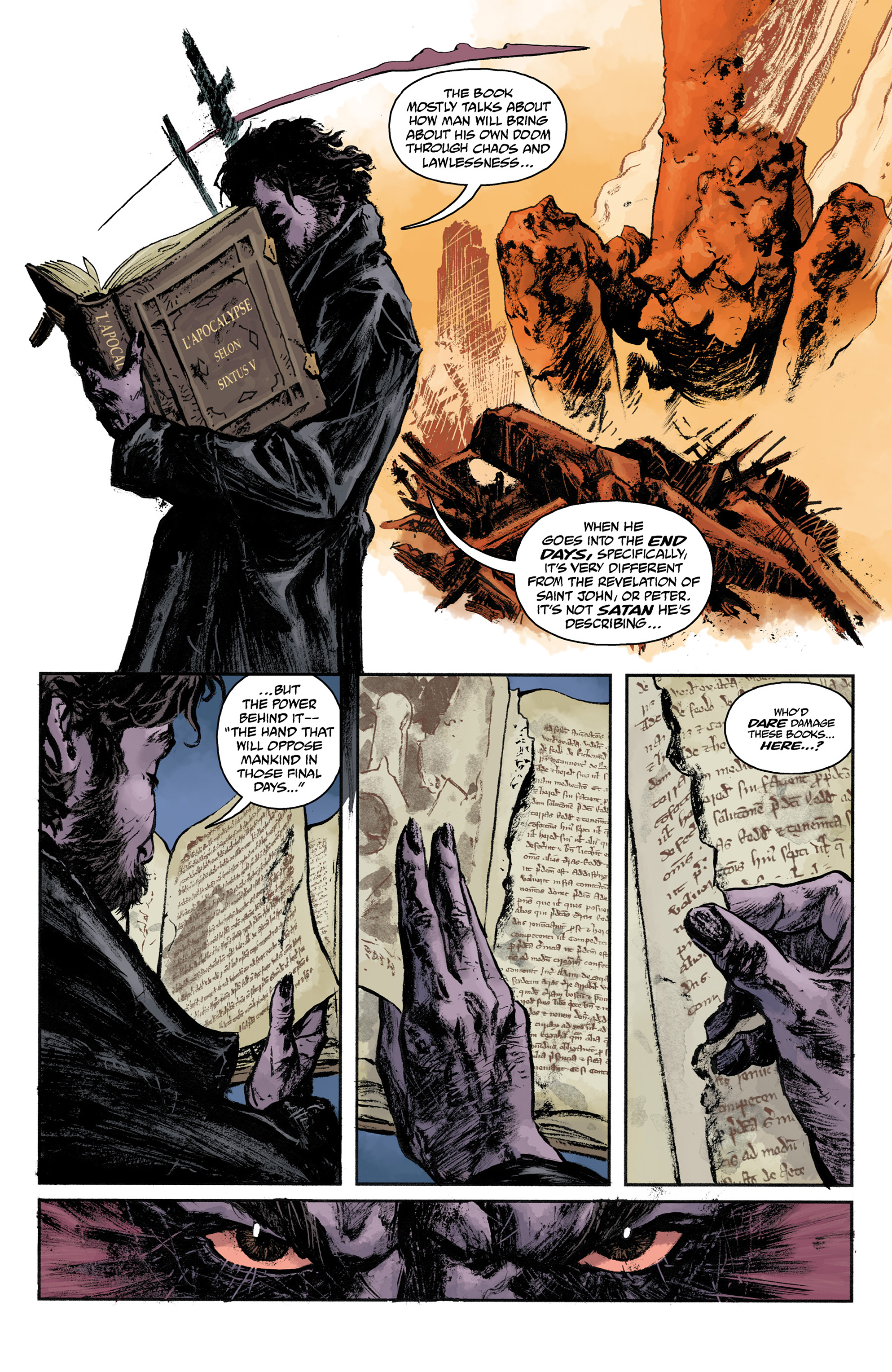 Read online Abe Sapien comic -  Issue #31 - 14
