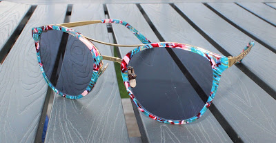 Multicolour Aviator Sunglasses