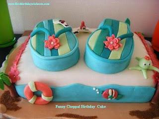 funny cheppal cake