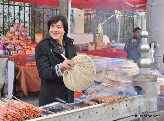 Street Food, Muslim Market, Shanghai, China