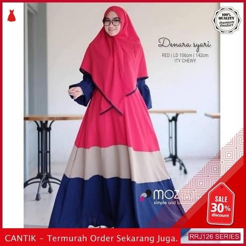 Jual RRJ126D104 Dress Muslim Syari Wanita Denara Vg Terbaru BMGShop