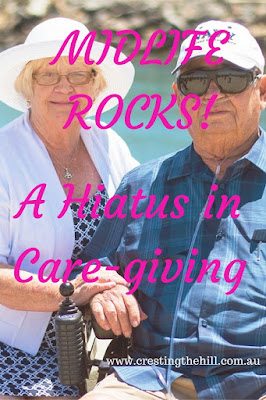 MIDLIFE ROCKS! ~ having a break in between caring for your children and then caring for your parents