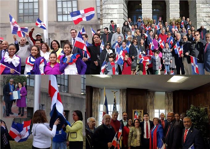 Consulado de Boston mina de banderas Nueva Inglaterra; reconoce líderes dominicanos
