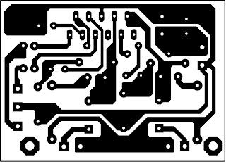 PCB Layout Mini amplifier TDA 2009