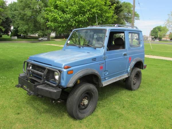 Diesel 4x4, 1986 Suzuki Samurai Tin Top