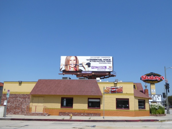 Full Frontal Samantha Bee 2016 Emmy FYC billboard