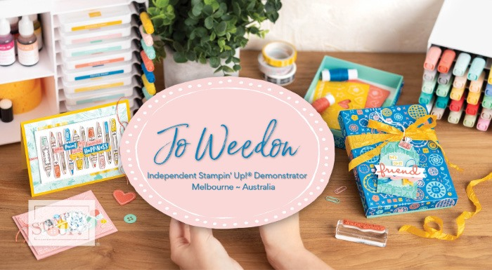Jo Weedon - Independent Stampin' Up! Demonstrator
