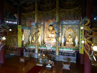 visite du temple de Yakcheonsa Ile de Jeju Corée du sud