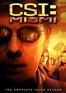CSI: Miami Temporada 3