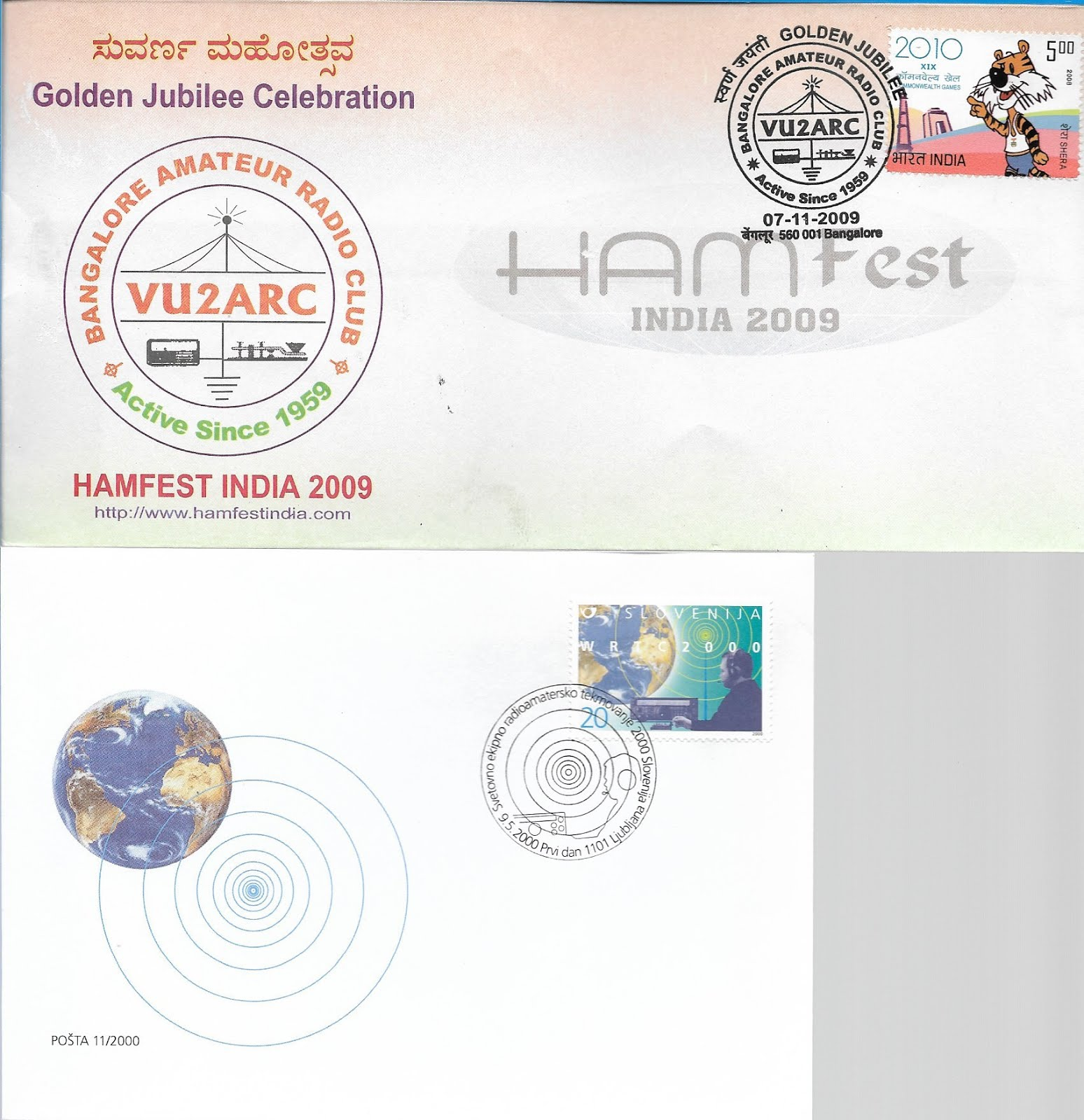 First Day Cover Stamps Ham Radio