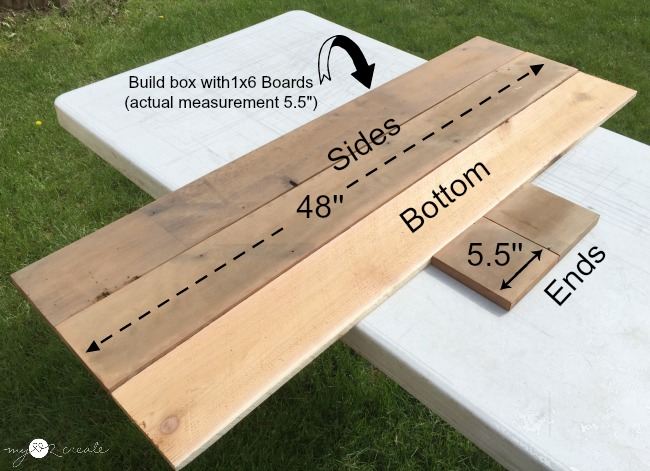 building a box planter