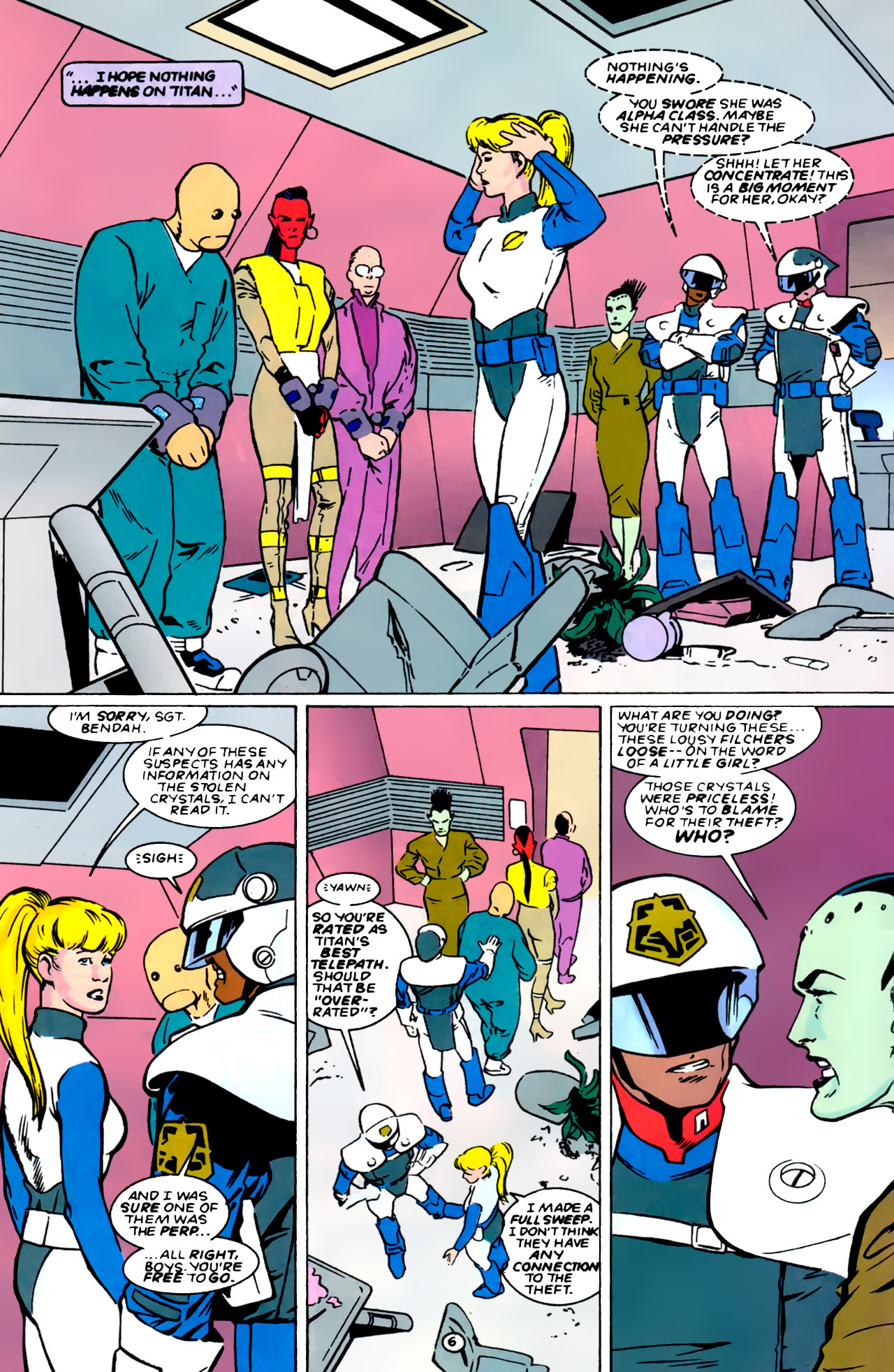 Legion of Super-Heroes (1989) 0 Page 6