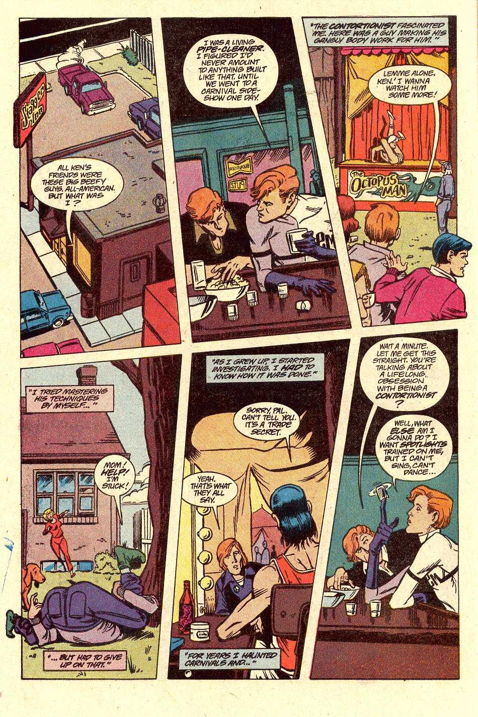 Read online Secret Origins (1986) comic -  Issue #30 - 8