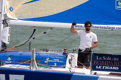 Yoann Richomme, vainqueur de La Solitaire 2016