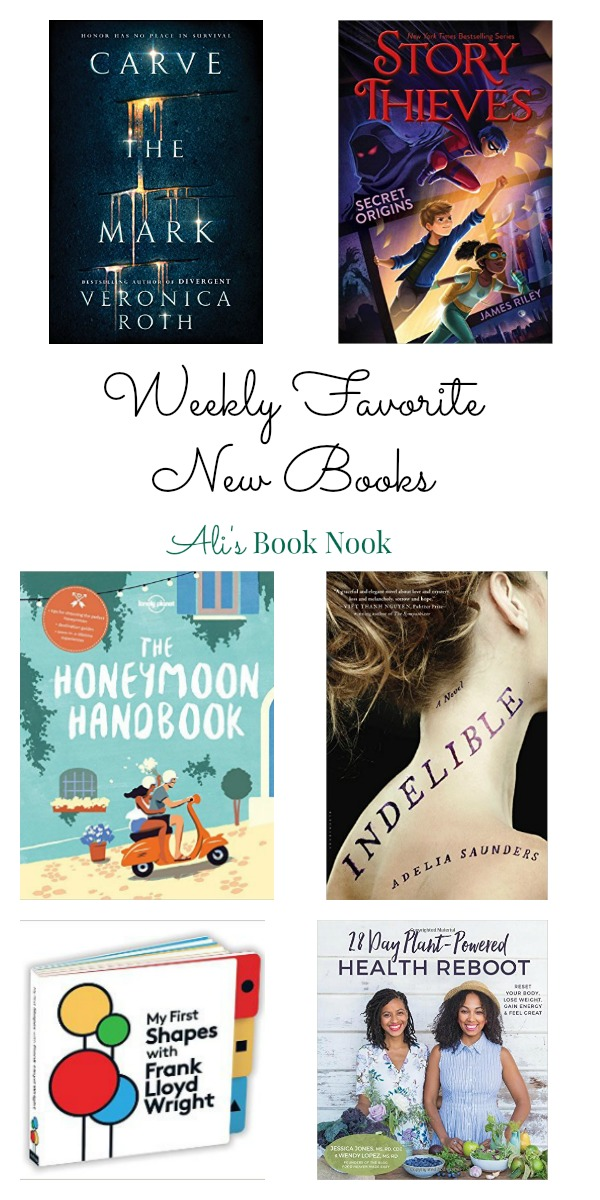 Weekly Favorite New Books for YA Middle Grade Adult Children and nonfiction books published Jan 17th