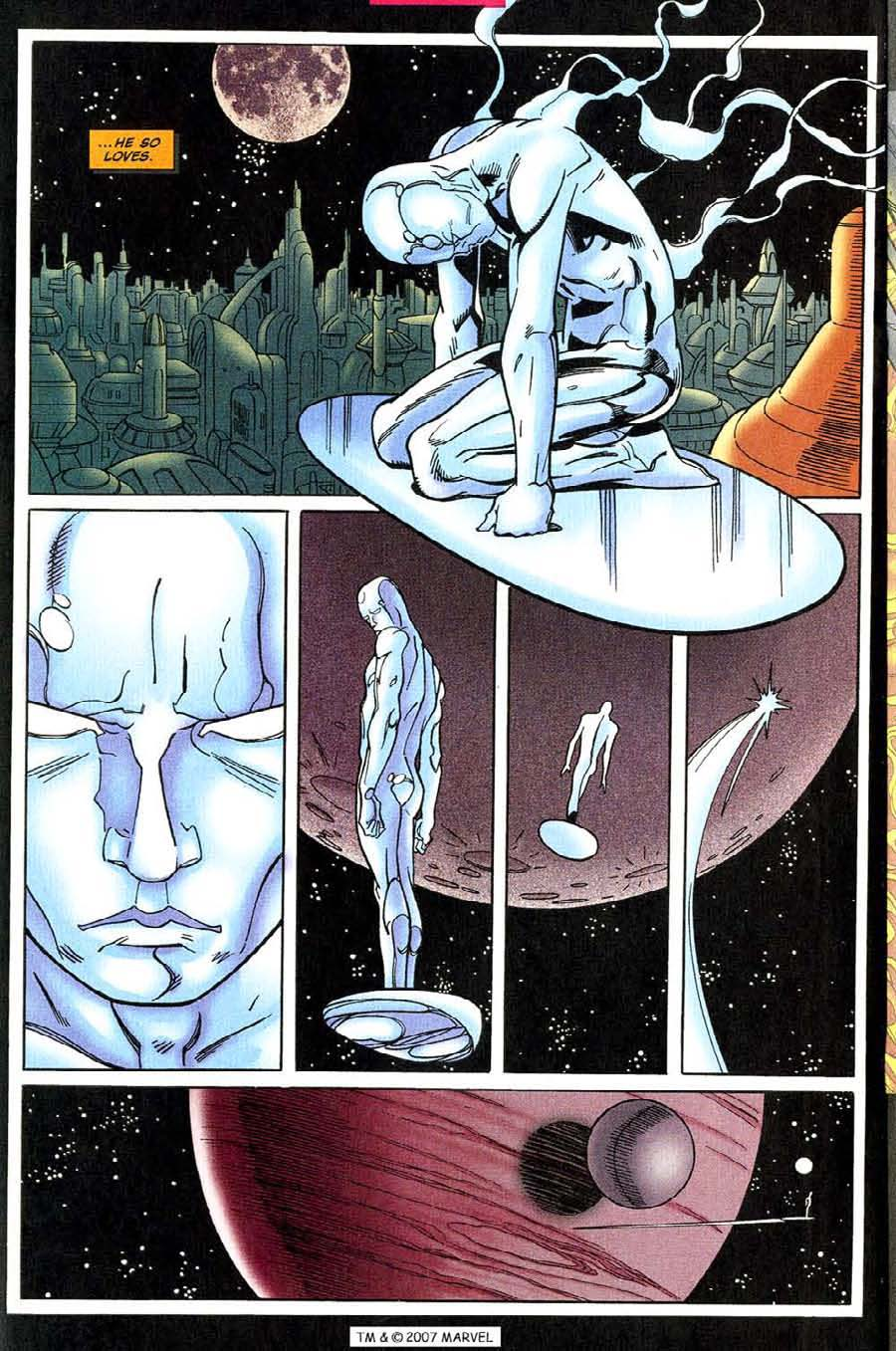Read online Silver Surfer (1987) comic -  Issue #131 - 22