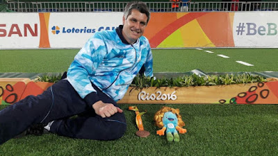 Juegos Paralímpicos Río 2016: «LA MEDALLA SIGNIFICÓ MUCHO» SOSTUVO DARÍO LENCINA