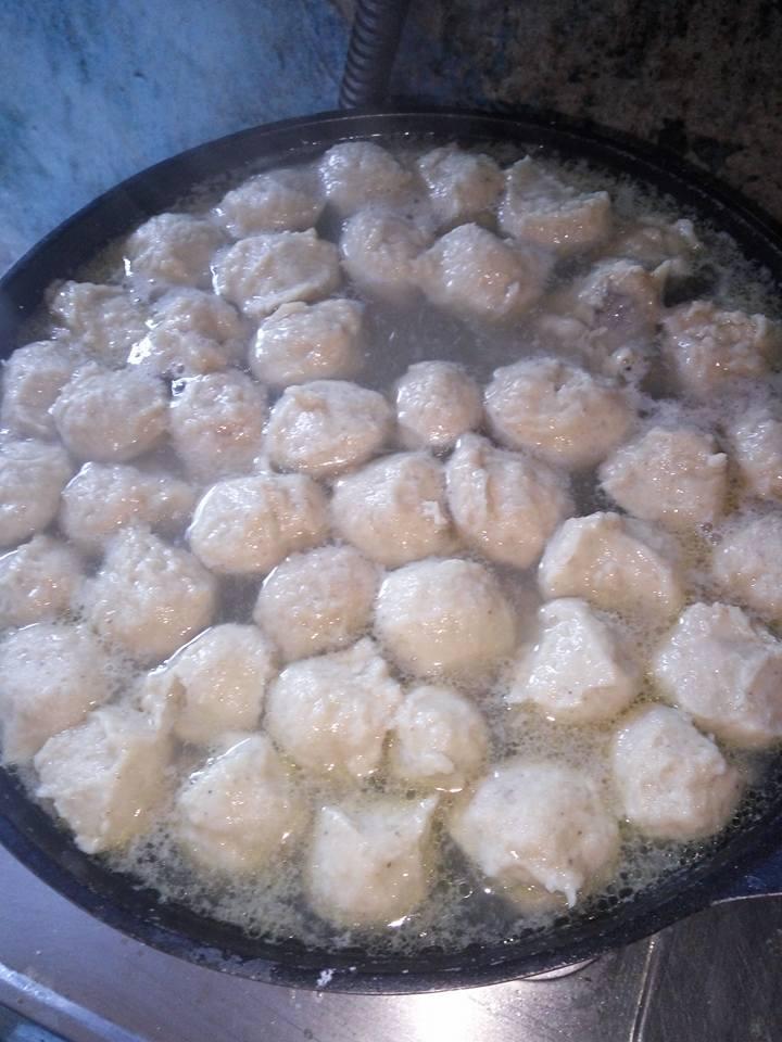 resep bakso ayam daging 1 2 kg dapat banyak pentol rh buatresep blogspot com
