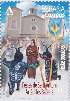 Festes de Sant Antoni. Artà. Illes Balears (Fiestas populares)
