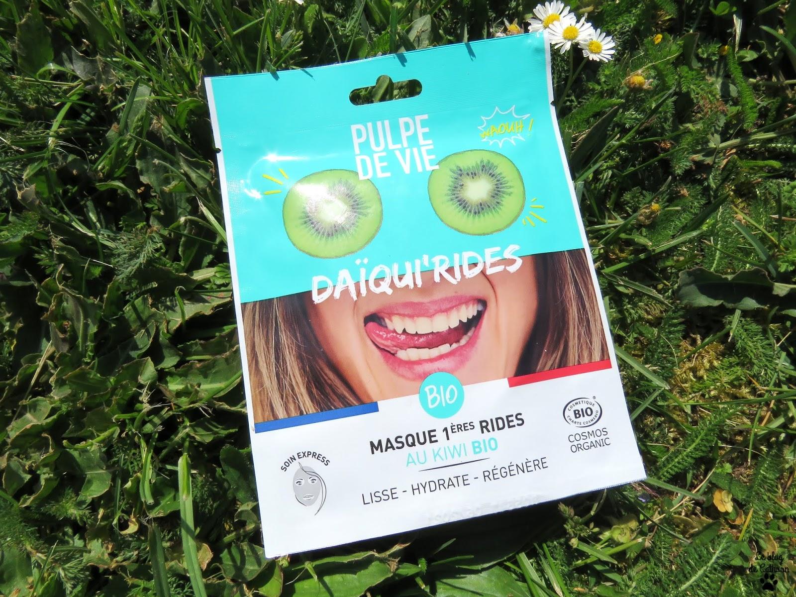 Daïqui'rides - Masque Kiwi Bio - 1ères Rides - Pulpe de Vie