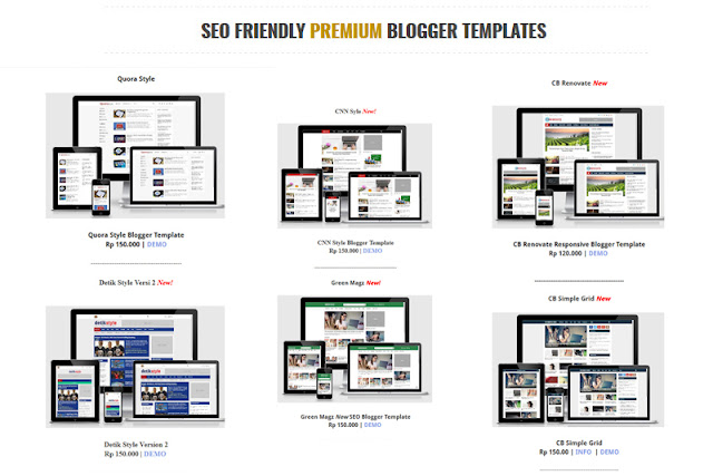 Website Jual Beli Template Blog contohblog.com