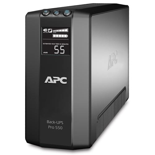 APC Back-UPS Pro 550 - widok od przodu