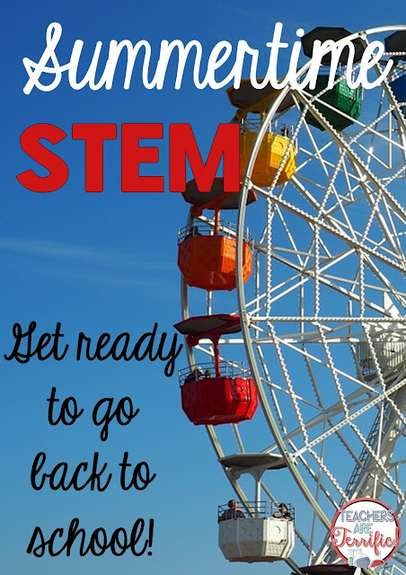 Here's a great summer time STEM Challenge! Build a Ferris Wheel! It needs to be hexagonal and turn on a central axle! Will symmetry play a part in the final design?