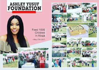 Ashley Yusuf foundation celebrates Children's Day with kids