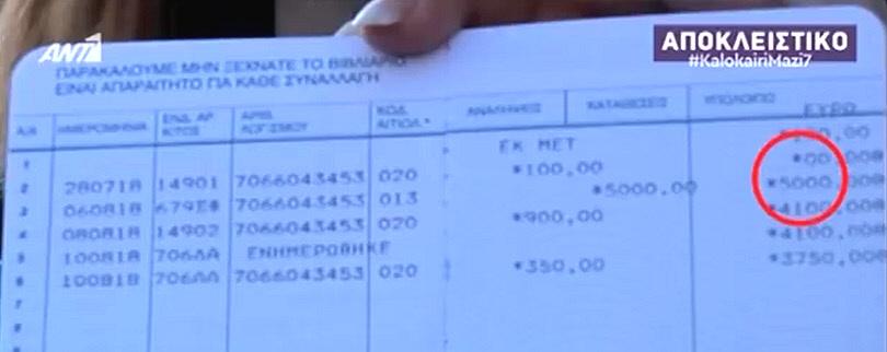 Κατάσχεσαν Βοήθημα 5.000 Ευρώ από Πυρόπληκτο στο Μάτι - 1