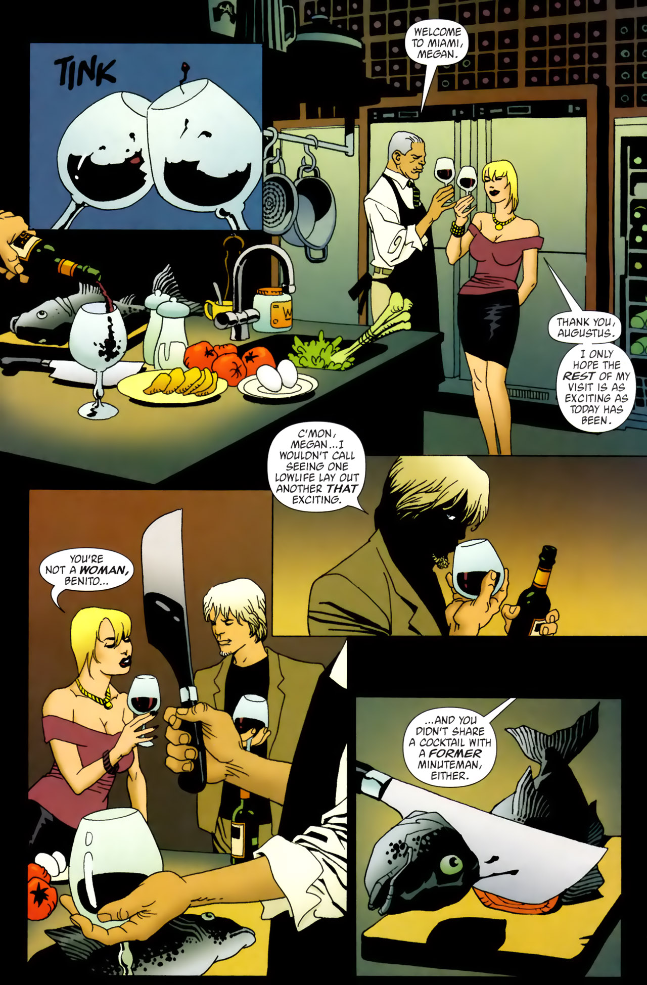 Read online 100 Bullets comic -  Issue #62 - 7