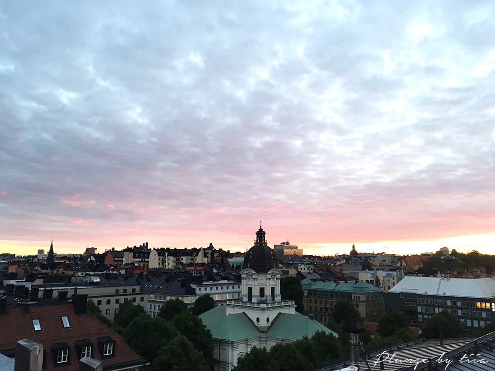 Sunset in Stockholm - Plunge by tiia