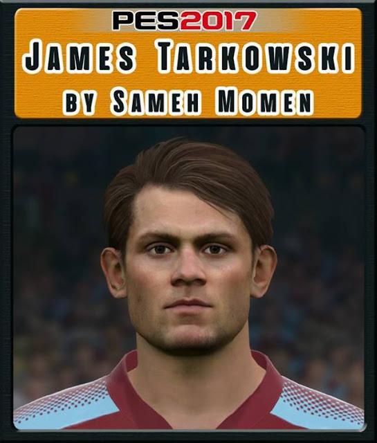 James Tarkowski Face PES 2017