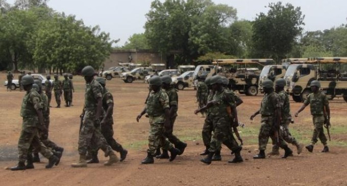 105 nigerian soldiers killed boko haram