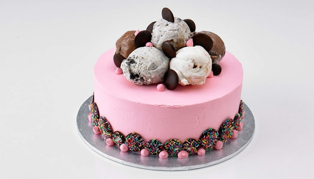 Birthday Ice Cream Cake Delivery recipe
