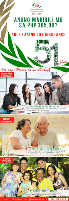 Country Bankers Insurance - affordable insurance for Filipinos