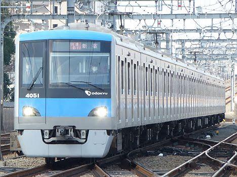 小田急電鉄 快速急行 新宿行き3 4000形