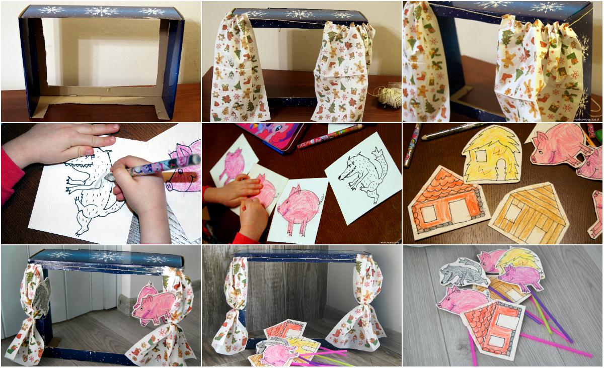 Jak zrobić teatrzyk kukiełkowy dla dzieci